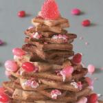 Juletræ af kager
