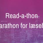 Read-a-thon – marathon for læseheste