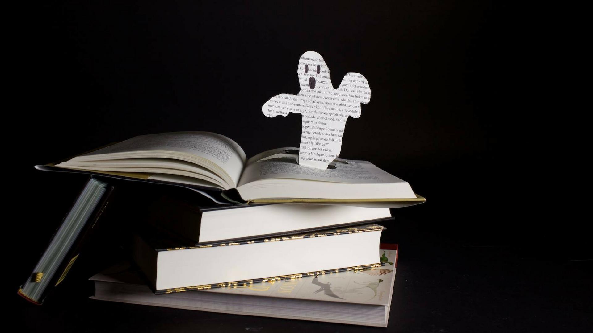 Uuuuuhyggelige Bøger Til Halloween