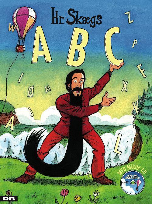 Hr Skægs ABC, skolestart, første skoledag, abc, hr skæg