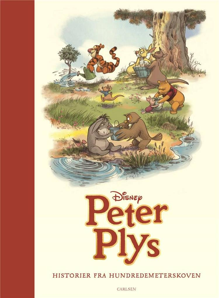 Peter Plys, Historier fra Hundredemeterskoven, Disney, Grislingen, Tigerdyr, børnebog, børnebøger, klassisk børnebog