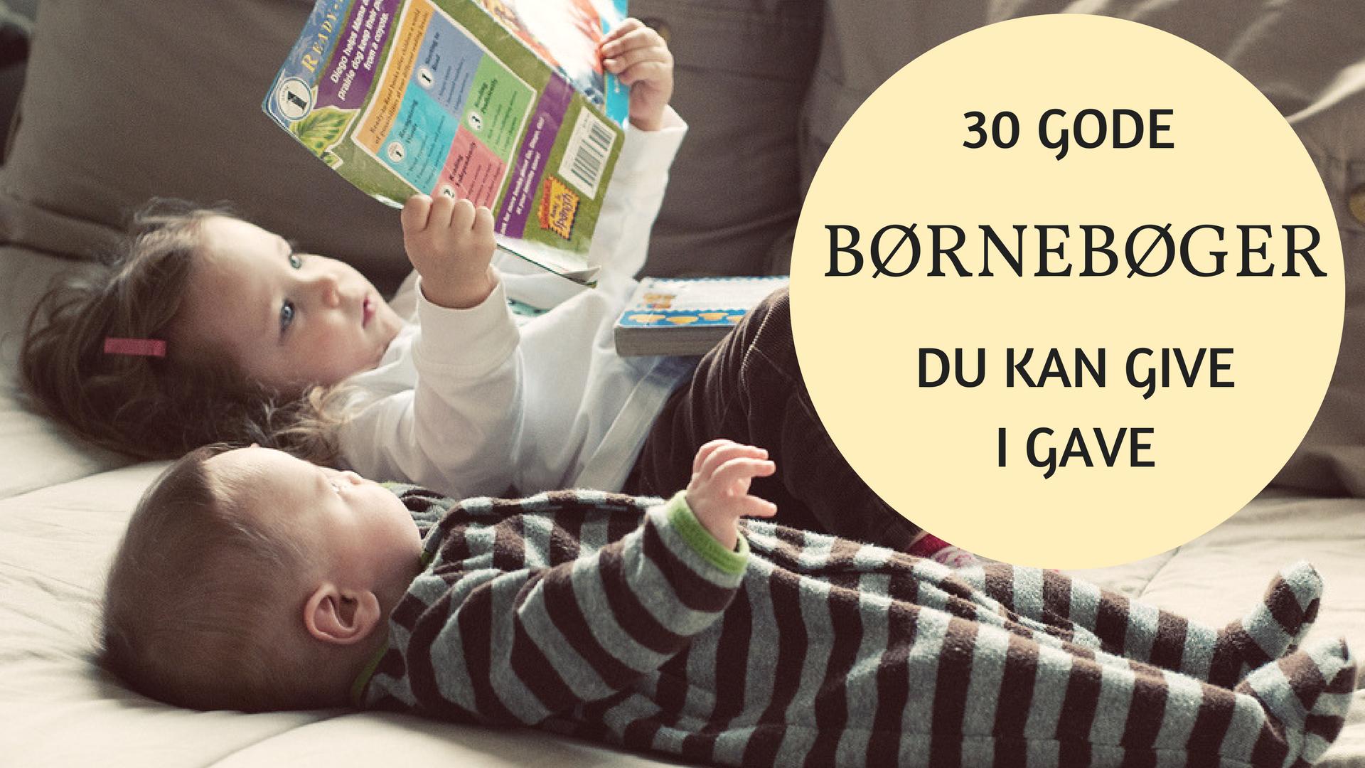 børnebøger i gave, dåbsgave