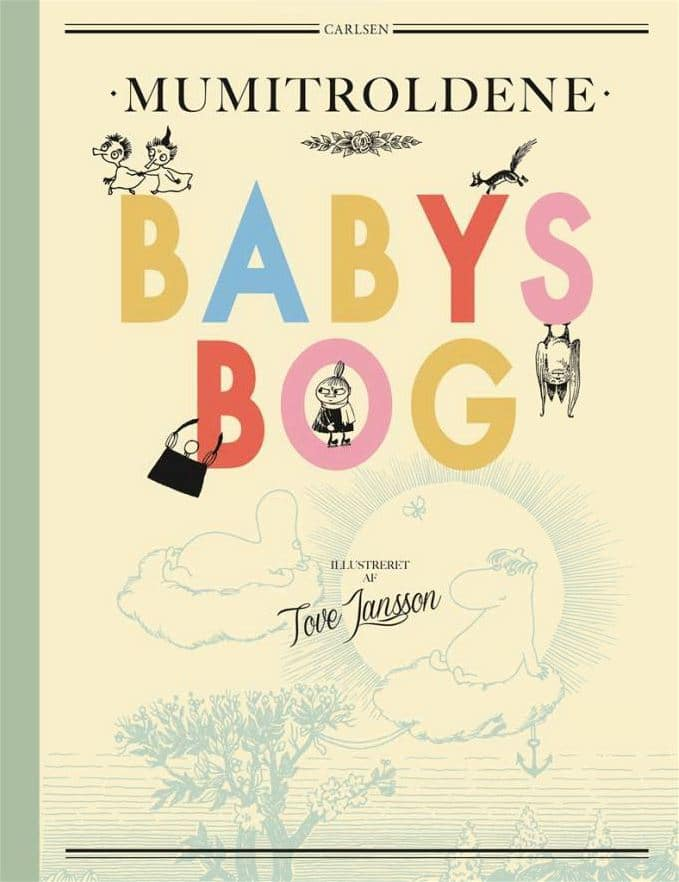 Mumitroldene, babys bog, babybog, børnebog, børnebøger, gavebog, gavebøger til børn