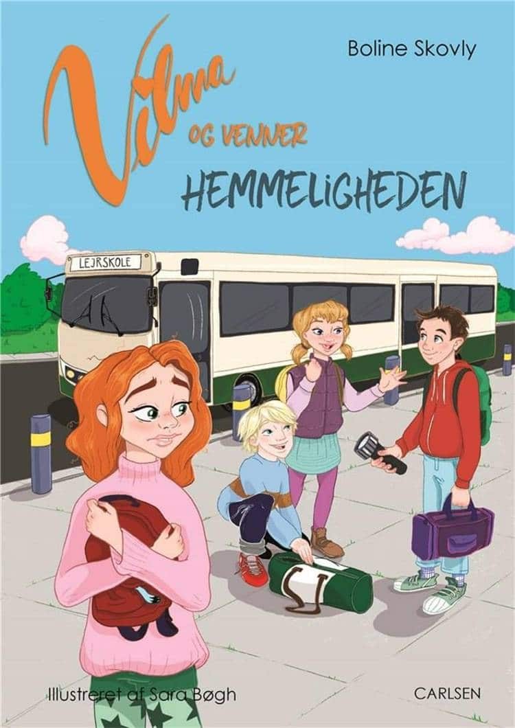 Vilma og venner, Boline Skovly, børnebog, børnebøger, letlæsningsbog, letlæsningsbøger