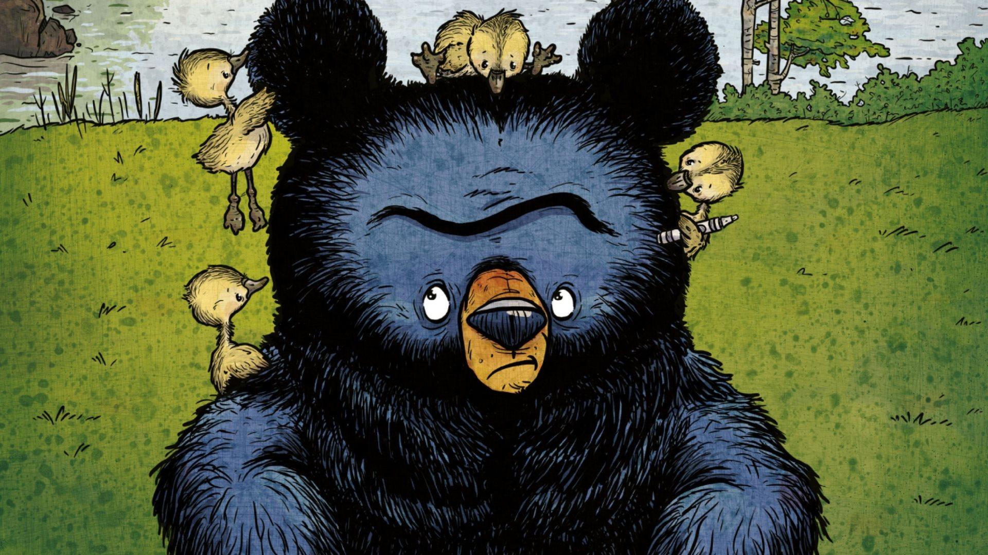 boris, bjørnen boris, dialogisk læsning, billedbøger, ryan t. higgins, hotel boris, da boris fik gæslinger, bøger til børnehavebørn