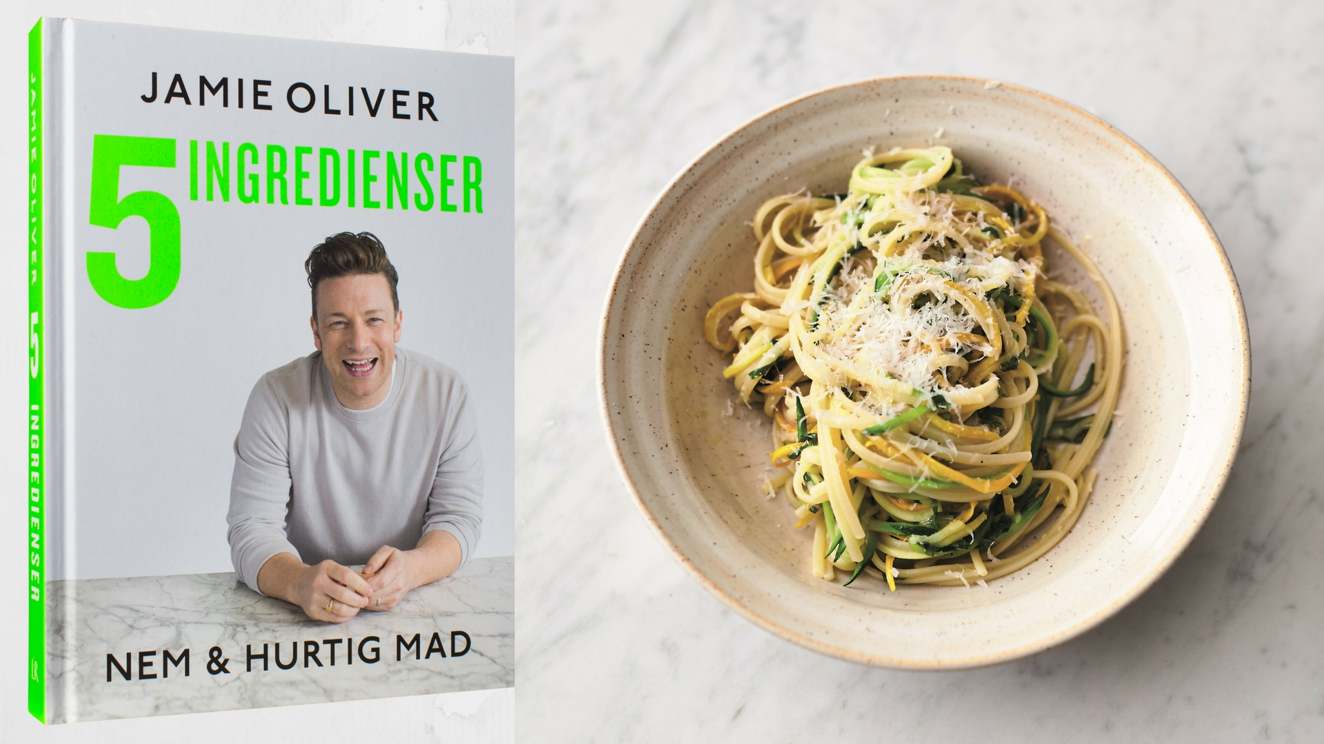 Jamie Oliver, 5 ingredienser, linguine