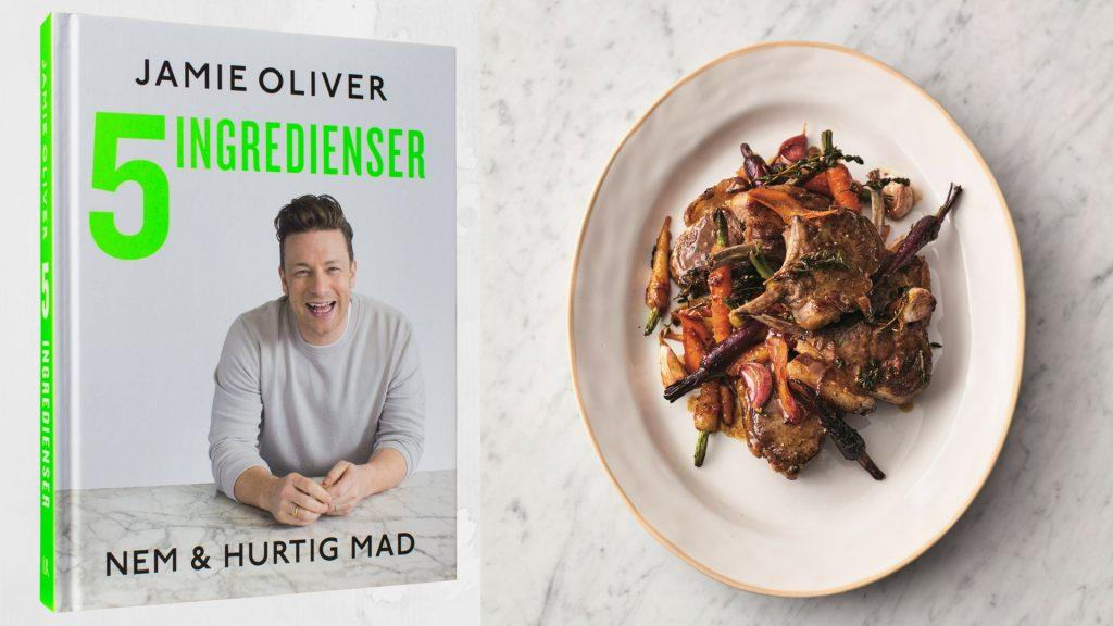 Jamie Oliver, 5 ingredienser, lammekoteletter