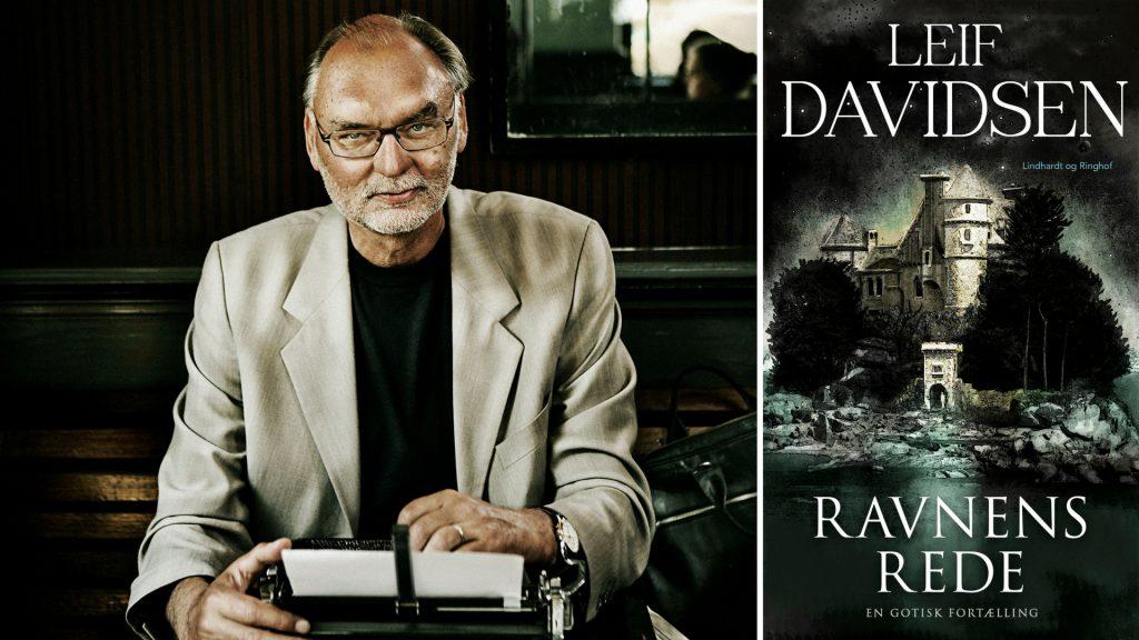Leif Davidsen, Ravnens Rede, krimi, lindhardt og ringhof, frankrig, gotisk, fortælling, rusland