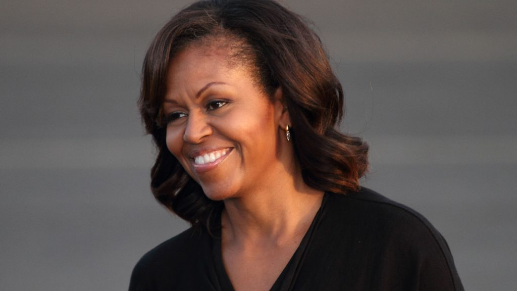 Michelle Obama All Over Press