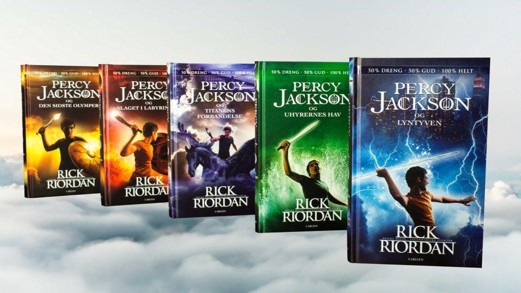 Percy Jackson, Rick riordan, fantasy, fantasy bøger, mytologi