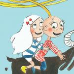 Fem seje piger fra børnebøgernes verden: Kender du Vilma, Pippi, Trisse, Bea og Emmy?