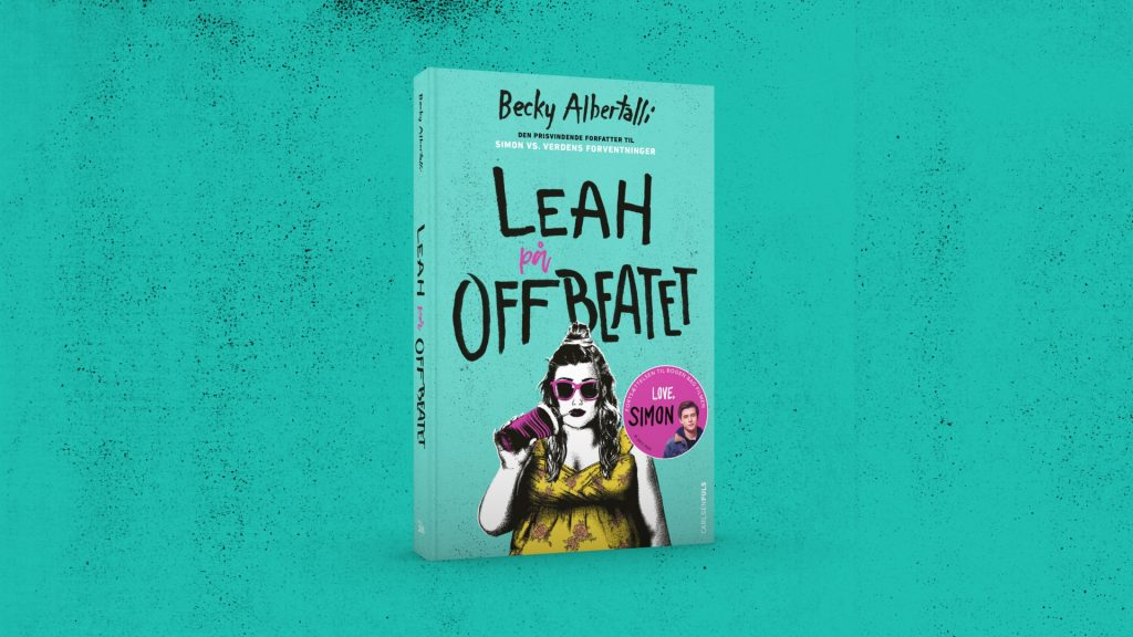 leah på offbeatet, leah on the offbeat, love simon, simon vs verdens forventninger, simon vs the homosapien agenda, becky albertalli