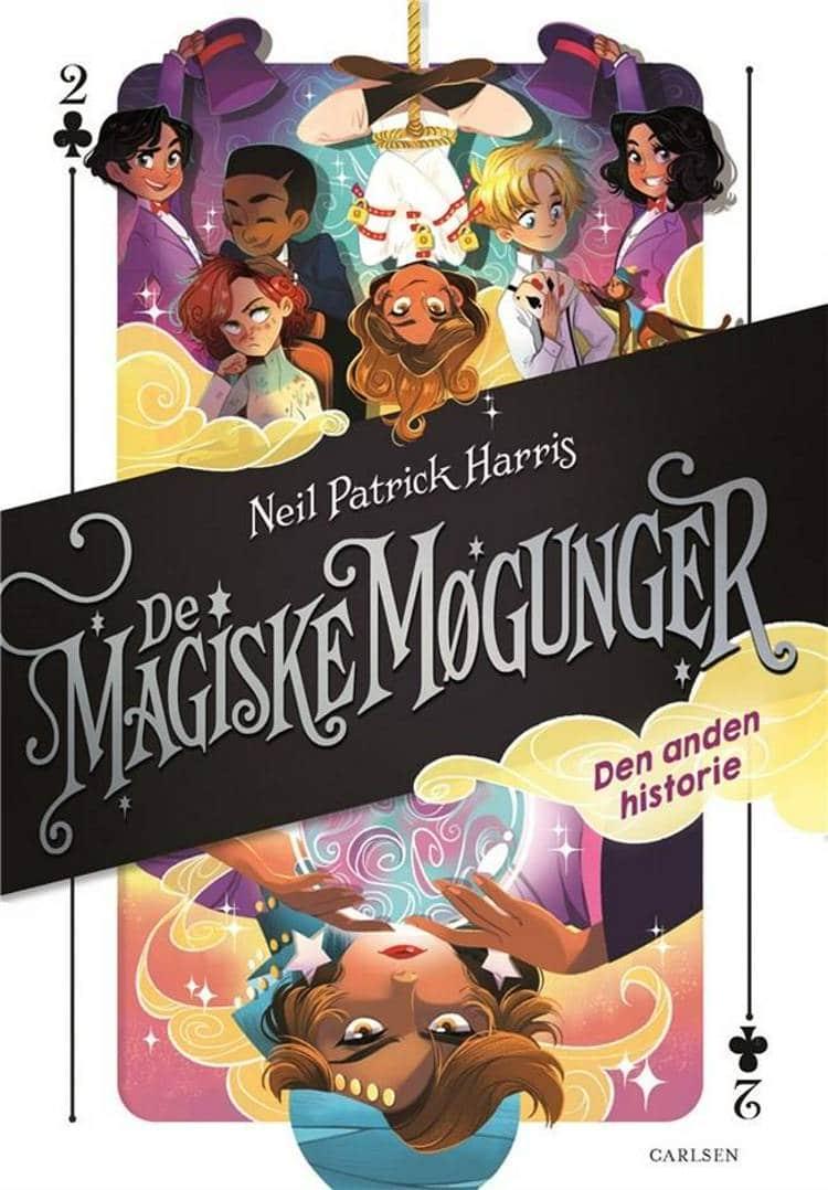 De magiske møgunger, magiske møgunger, Neil Patrick Harris, magi, børnebog, børnebøger