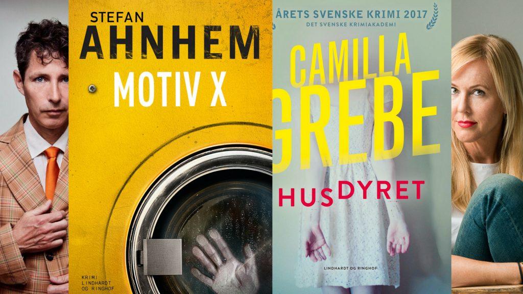 svensk krimi, Camilla Grebe, Stefan Ahnhem