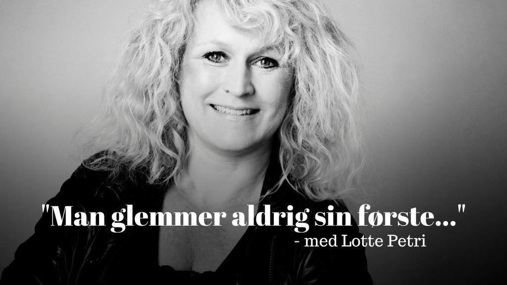 Lotte Petri, debut, debutroman, krimidebut, Man glemmer aldrig sin første