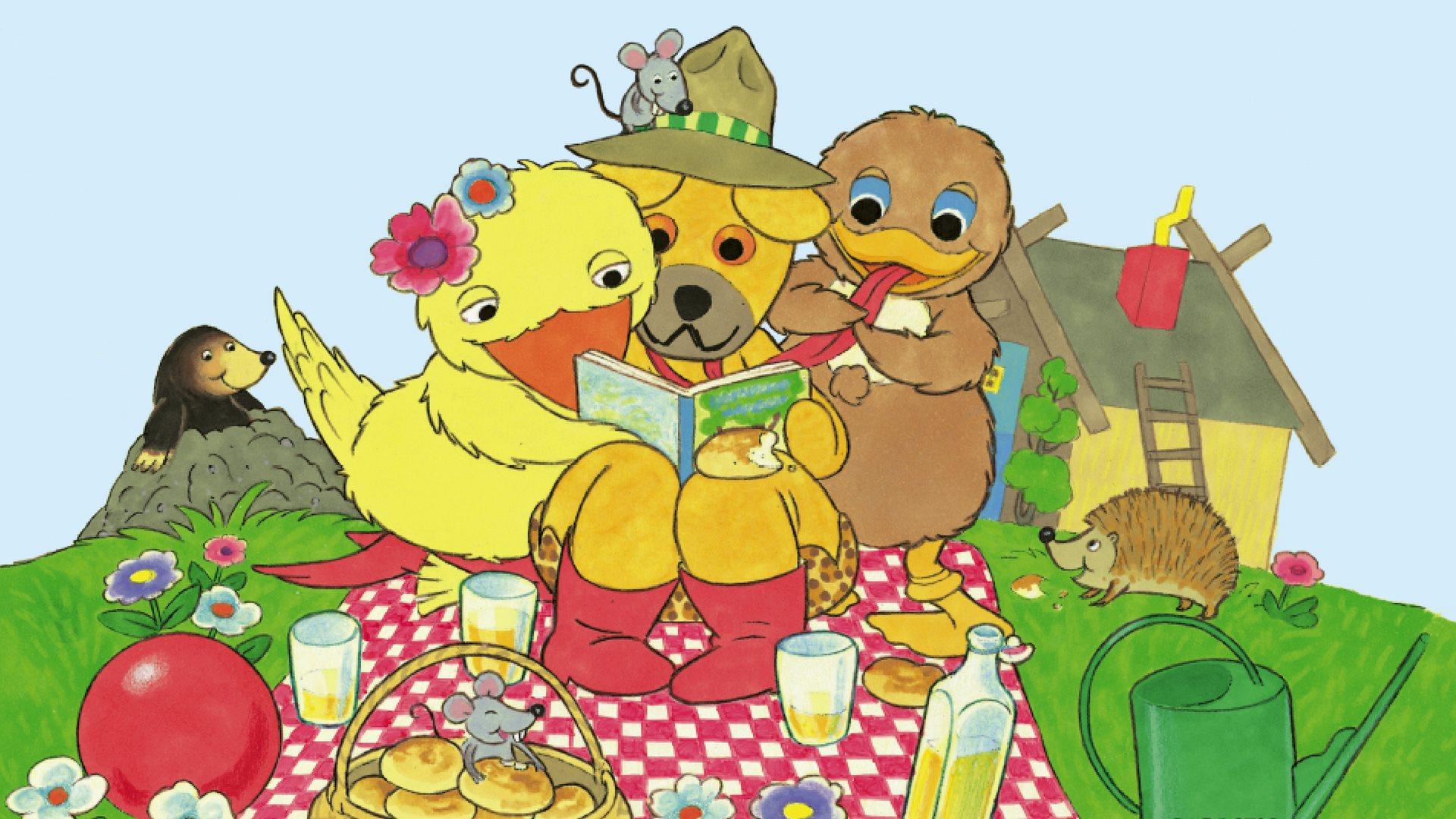 bamse og kylling bog
