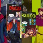 Carlsens tegnede klassikere – Dracula og Robin Hood til en ny generation af læsere