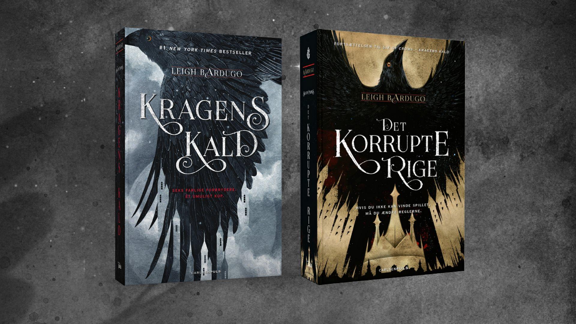 Kagens kald, det korrupte rige, six of crows, ya, ya fantasy, bøger, læsning, young adult
