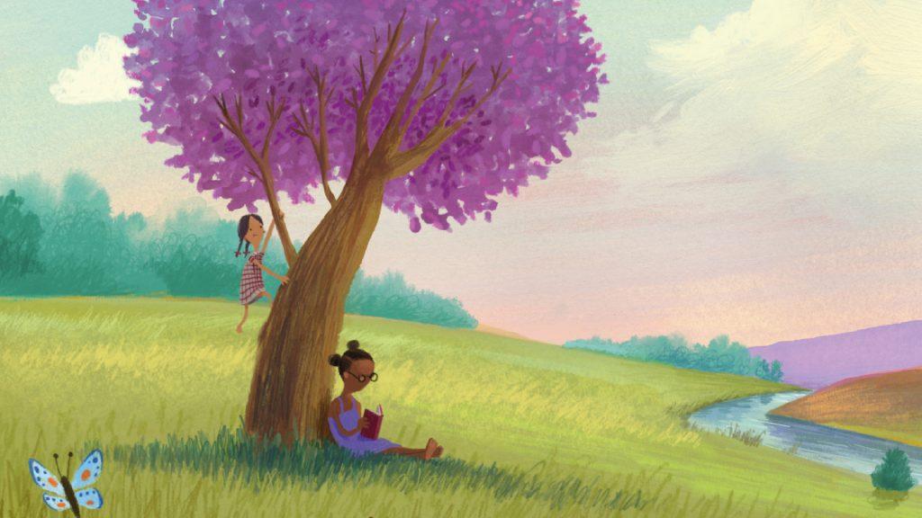 Godnathistorier, godnathistorie, 0-5-årige, børnebøger, børnebog, højtlæsning, her er vi, oliver jeffers