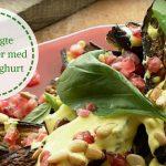 Lækre retter fra Ottolenghi: Ovnbagte auberginer med safranyoghurt