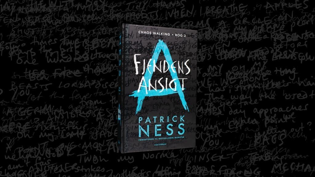 Chaos walking, fjendens ansigt, patrick ness, knivens stemme, ya, young adult
