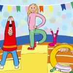 Alfabet-atlet – Bogstaver skal læres med kroppen