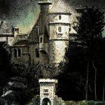 Tag med til slottet Ravnens rede, hvor hemmelighederne gemmer sig i mørket
