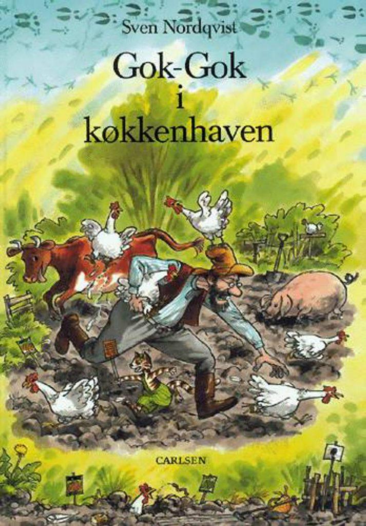 Peddersen, Findus, Gok-Gok i køkkenhaven, Svend Nordqvist, børnebog, børnebøger,