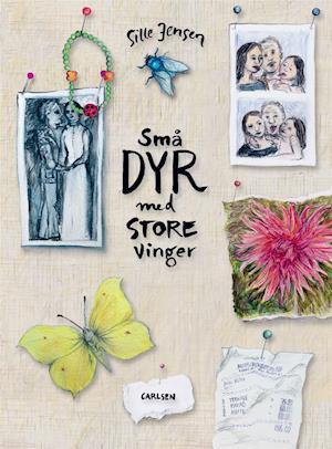 Små dyr med store vinger, Sille Jensen, sorg, børnebøger