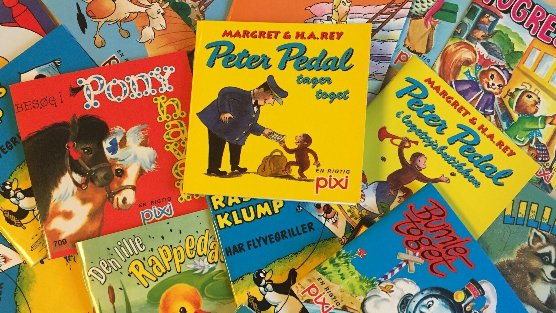pixi-bøger, børnebøger,