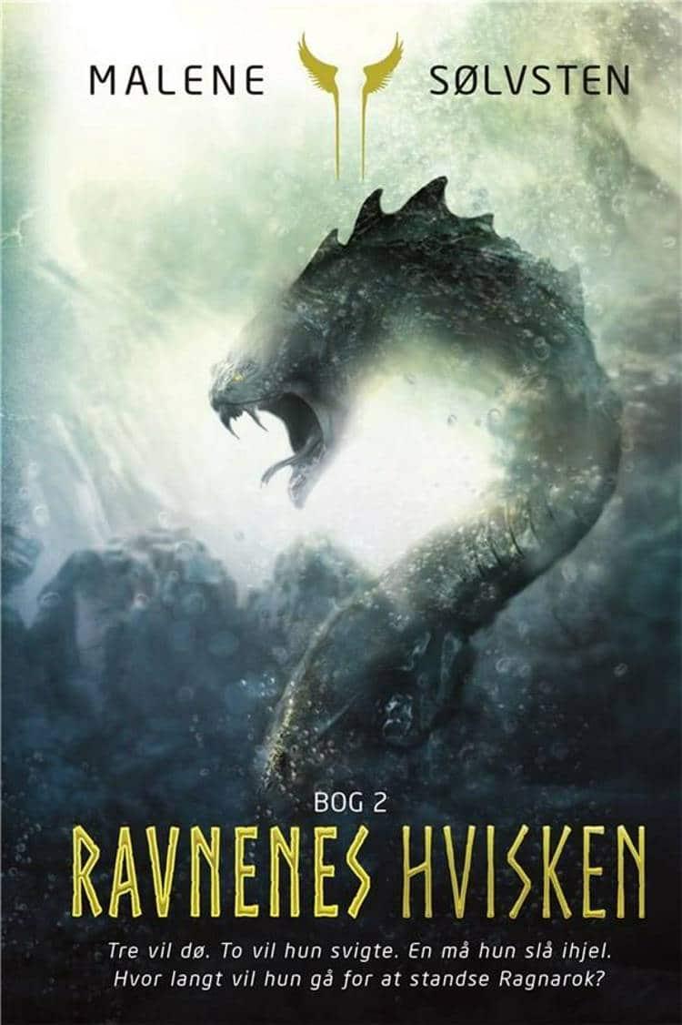 ravnenes hvisken, Malene Sølvsten, nordisk mytologi, nordiske guder, fantasy, YA