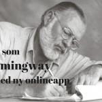 Skriv som Hemingway med ny onlineapp
