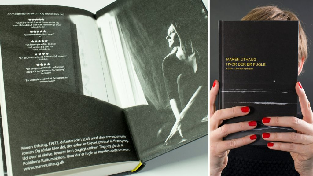 Maren Uthaug ny roman