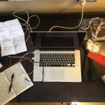 """Stefan Ahnhem: """"Mit skrivebord skal være, som det altid har været."""""""