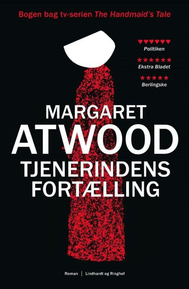 Margaret Atwood, Tjenerindens fortælling, dystopi, dystopisk roman, Handmaid's Tale