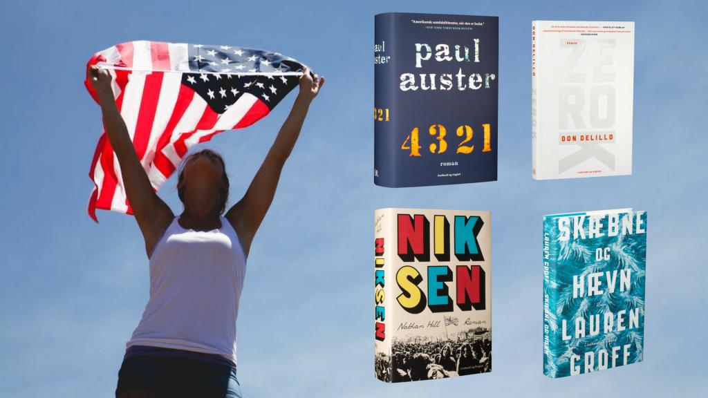 amerikanske romaner, amerikansk litteratur