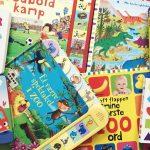 Leg og lær for de yngste – ni sjove papbøger