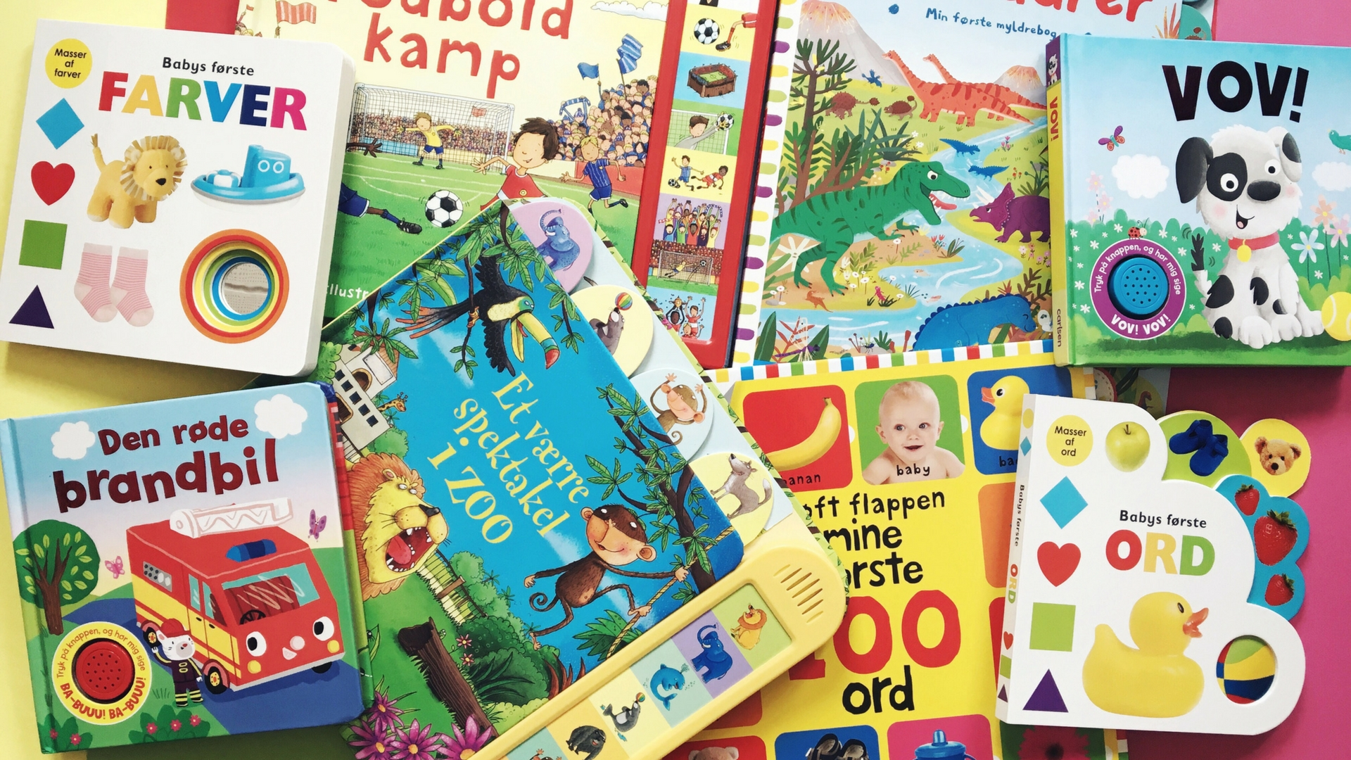 Sjove papbøger til de mindste