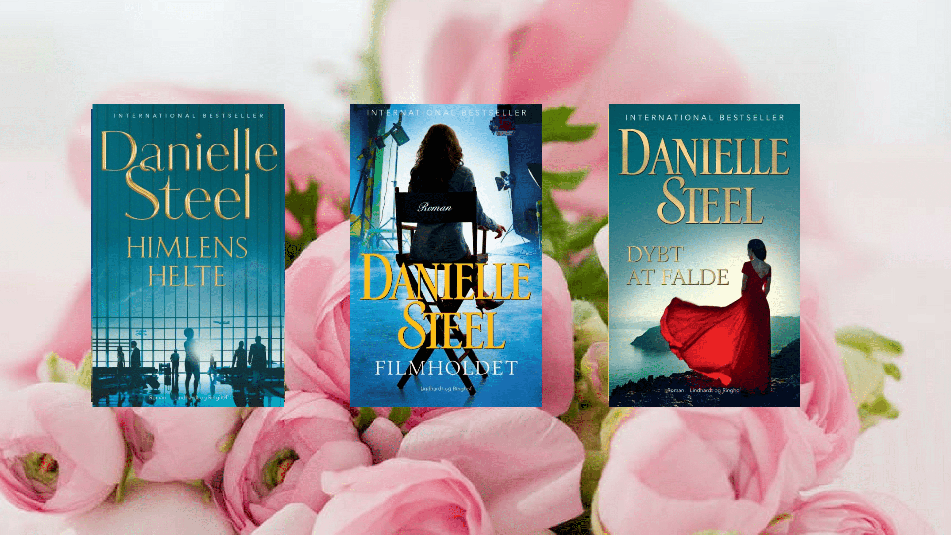 Danielle Steel bøger