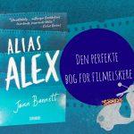 Filmreferencer og kærlighed: ALIAS ALEX af Jenn Bennett
