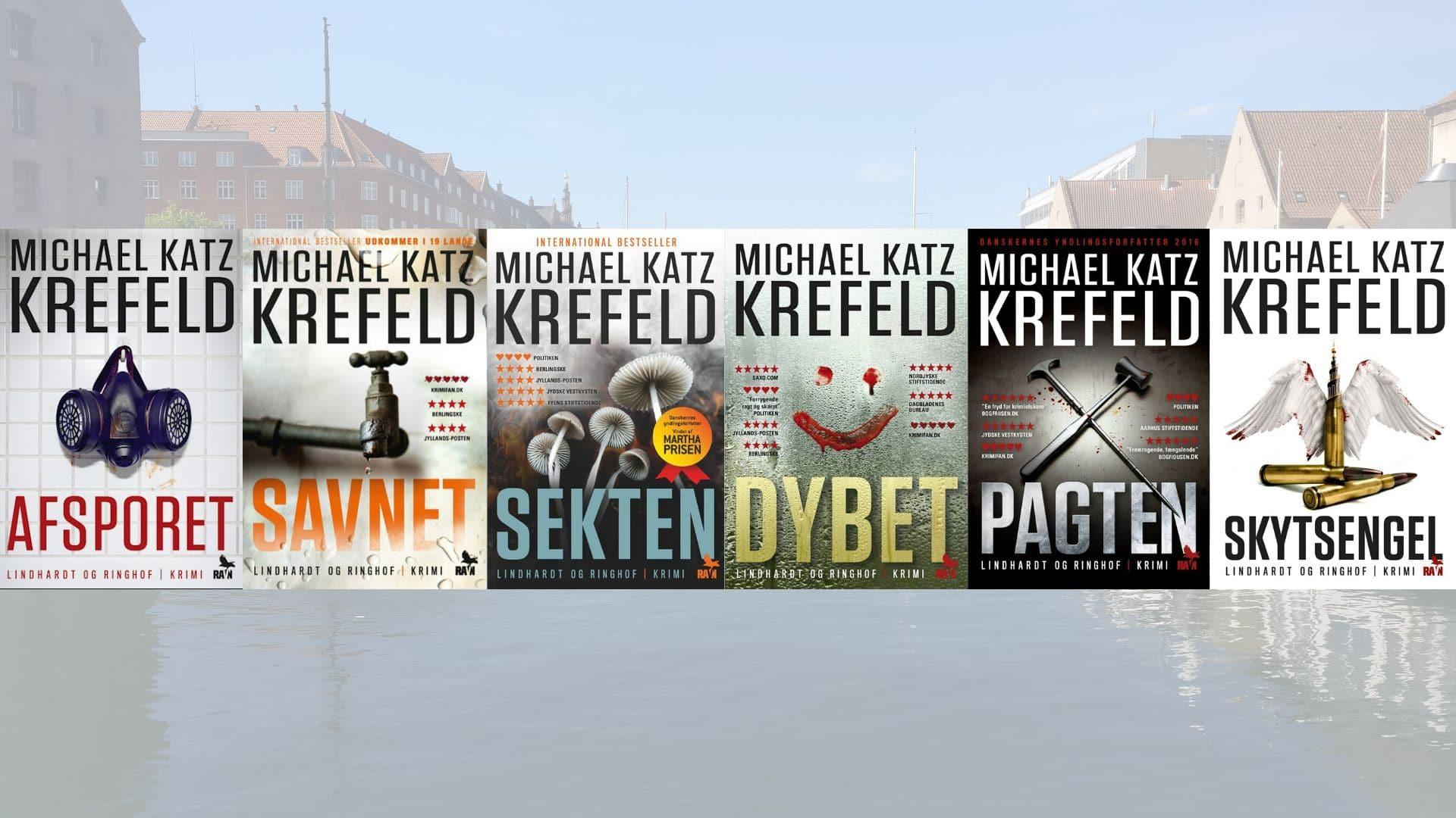 Michael Katz Krefeld, krimi, Ravn serien, dybet, afsporet, savnet, sekten, pagten, skytsengel, krimiserie