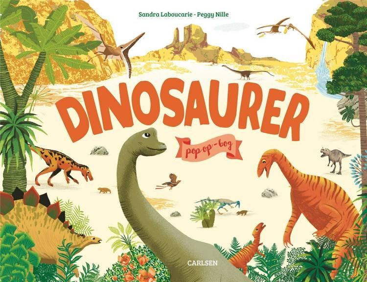 Dinosaurer, dinosaur, dino, pop op-bog, papbog, papbøger,