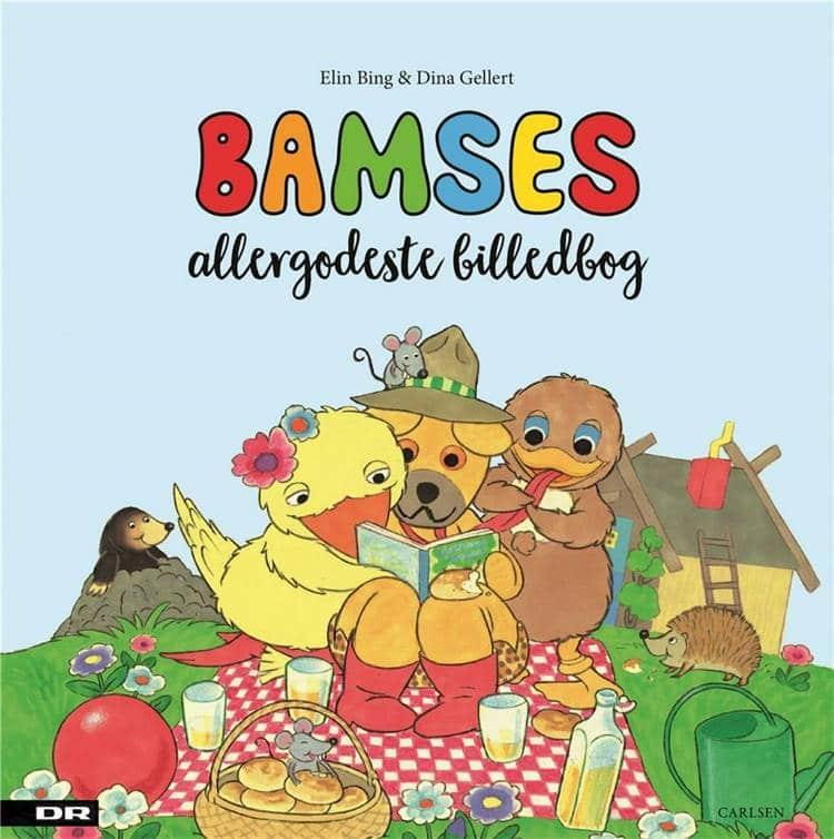 Elin Bing, Dina Gellert, Bamses allergodeste billedbog, bamses billedbog, bamse og kylling, børnebog, børnebøger