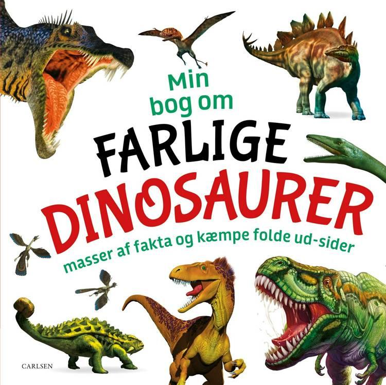 Min bog om farlige dinosaurer, dinosaur, dinosaurer, dino