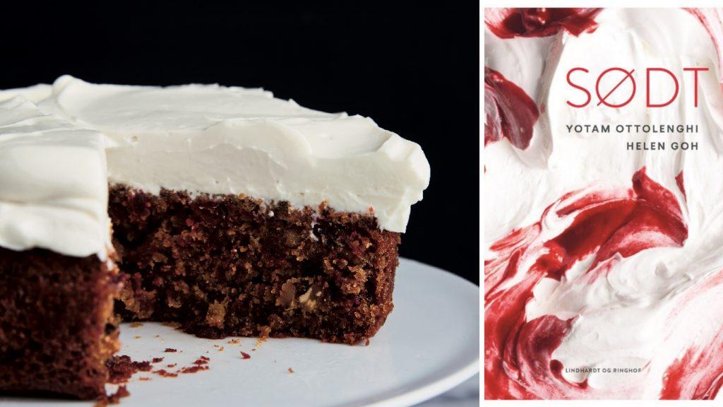 SØDT, sødt, YotamOttolenghi, rødbedekage, kage, kogebog, kogebøger, dessertbog, dessertbøger