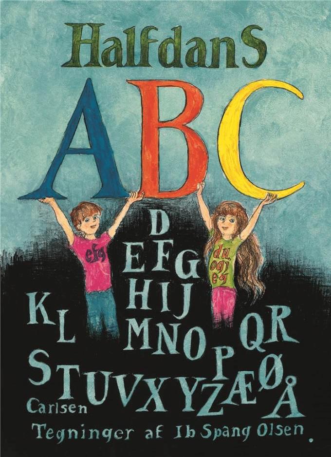 Halfdans ABC, abc, Halfdan Rasmussen, gavebog, gavebøger, børnebog, børnebøger