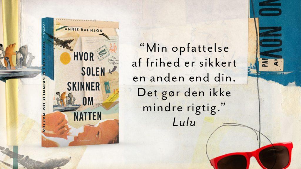Hvor solen skinner om natten, Annie Bahnson, young adult bøger, flygtningekrisen