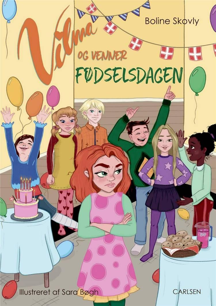 Boline Skovly, Vilma og venner, børnebog, børnebøger, letlæsningsbog, letlæsning, letlæsningsbøger