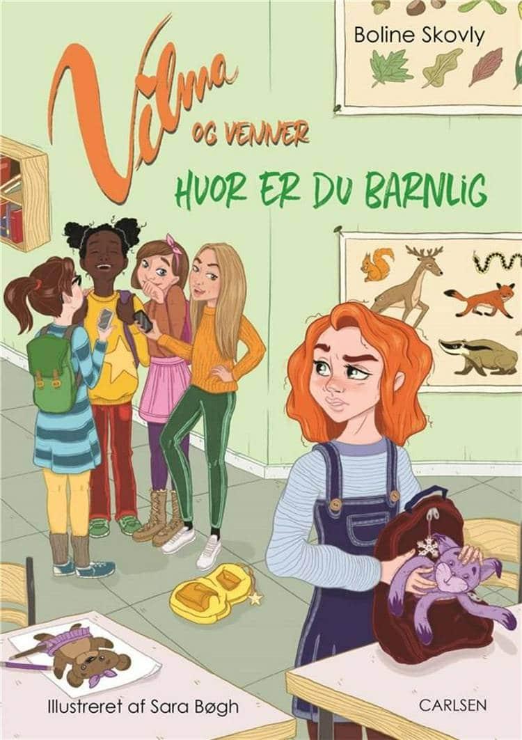 Boline Skovly, Vilma og venner, børnebog, børnebøger, letlæsning, letlæsningsbog, letlæsningsbøger