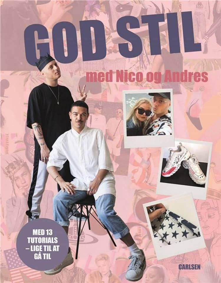 God stil med Nico og Andres,  Andres Artiles Jerrik, Nico Glad Golden, genbrugstøj, DIY, lav dit eget tøj,